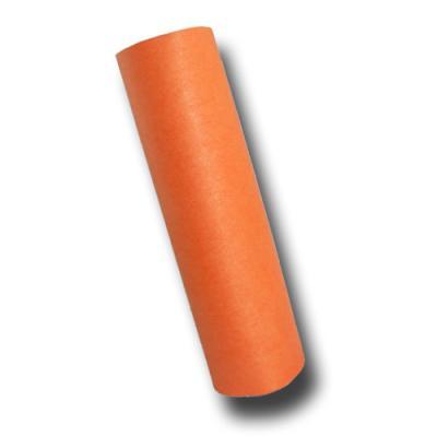 Luftschlangen orange aus schwer entflammbarem Papier, für die passende Partydeko.