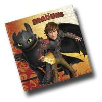 20 Motivservietten Dragons für einen perfekten...