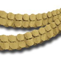 Papiergirlande gold matt glänzend 3,6 m