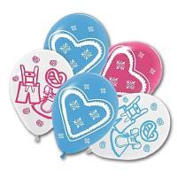 5 Luftballons für die Oktoberfest Deko