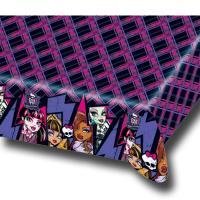 Tischtuch mit Motiven für den Kindergeburtstag Monster High