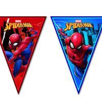 1 Wimpelkette aus Kunststoff mit Spiderman Motiven für...