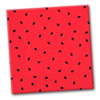 20 Papierservietten im Wassermelonen Design für Ihre...