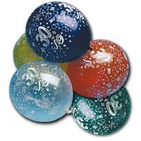 Luftballons in verschiedenen Farben und mit Zahl 30...
