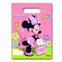 Rosa Partytaschen mit Minnie Mouse Motiv, für die...