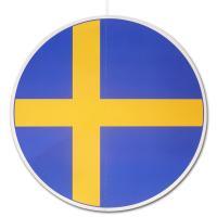 Großer Dekohänger mit Schweden Flaggenmotiv. 28 cm...