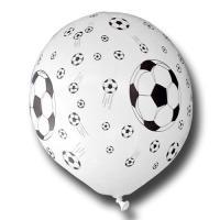 Luftballons im Fußball Design für Ihre Partydeko