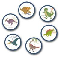 4 Dekohänger mit diversen Dinosaurier Motiven