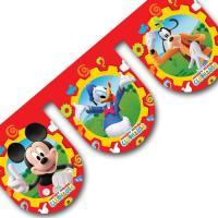Kunststoff Motivgirlande mit Mickey Mouse, Donald Duck...
