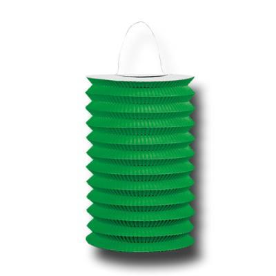 1 Zuglaterne grün für die passende Partydekoration.