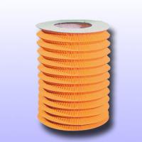 1 Zuglaterne orange aus schwer entflammbarem Papier,...