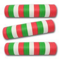 Luftschlangen grün-weiß-rot aus schwer entflammbarem...