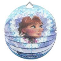 """1 Lampion mit Anna Motiv für die Kindergeburtstag Mottoparty """"Frozen""""."""