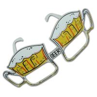 Originelle Kunststoff Partybrille im Bierkrug Design.