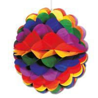 Deko Wabenball bunt 28cm Durchmesser, aus schwer...