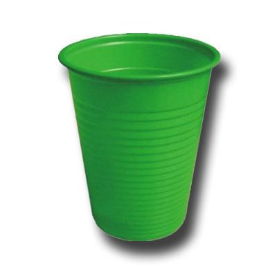 10 Plastikbecher grün für Ihr Partygeschirr