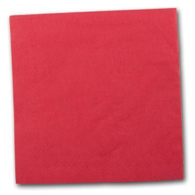 Servietten rot 20 Stück pro Packung