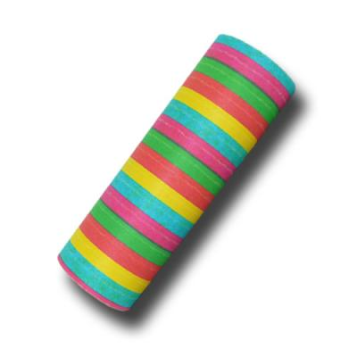 Bunte Luftschlangen aus Papier (schwer entflammbar) für die farbenfrohe Partydeko für Fasching, Karneval, Fastnacht, Geburtstag, Kindergeburtstag, Silvester oder Mottopartys.