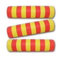 Rot-Gelbe Qualitäts-Luftschlangen aus schwer...