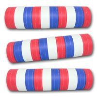 Luftschlangen blau-weiß-rot aus schwer entflammbarem Papier