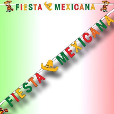 """Buchstabengirlande """"Fiesta Mexicana"""""""