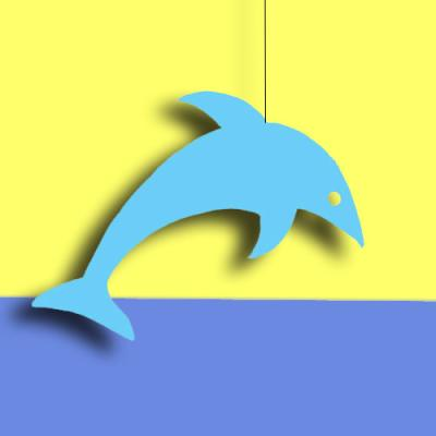 "Dekohänger ""Delfin"""