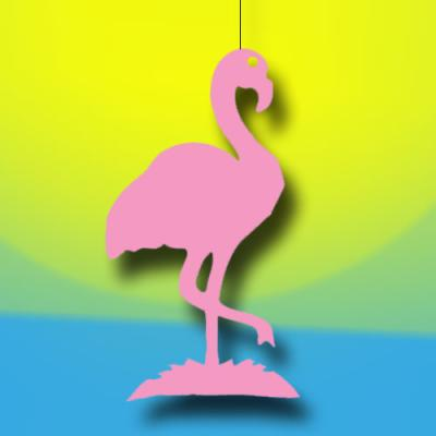 "Dekohänger ""Flamingo"""