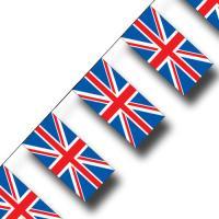 """""""Großbritannien"""" Fahnenkette"""