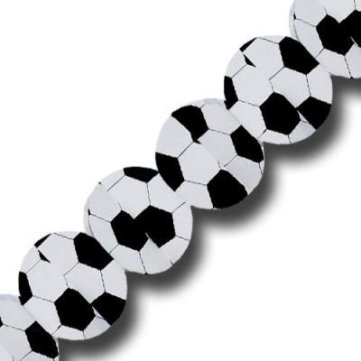 Girlande im Fußball Design für die passende Fußball Mottoparty.