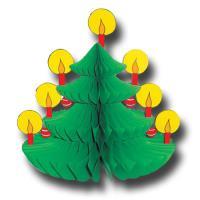 Kleine Wabenfigur im Weihnachtsbaum Design für die...