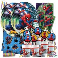Spiderman Motiv Partygeschirrset mit passenden...