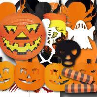 Partydekoset Halloween Grundausstattung zum Vorteilspreis.