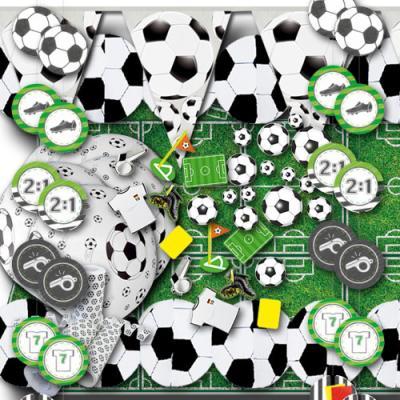 Originelles Fußball Partydekoset zum Sparpreis.