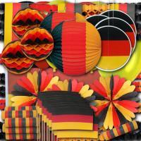Sehr umfangreiches Dekoset XXL in den Farben der...