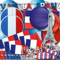 """""""Frankreich"""" Partydekoset groß"""