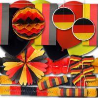 Partyset Grundausstattung für die Länderdeko Deutschland