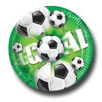Fußball Motiv-Pappteller