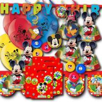 Buntes Kindergeburtstag Dekoset für das Partymotto Mickey...
